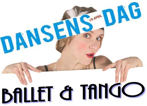 LOGO Dansens Dag - Ballet og Tango