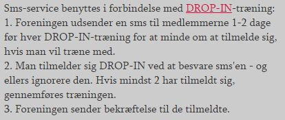 DROP-IN sms-service