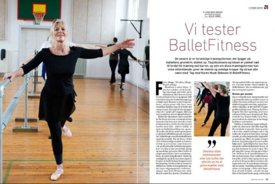 Søndag test BalletFitness