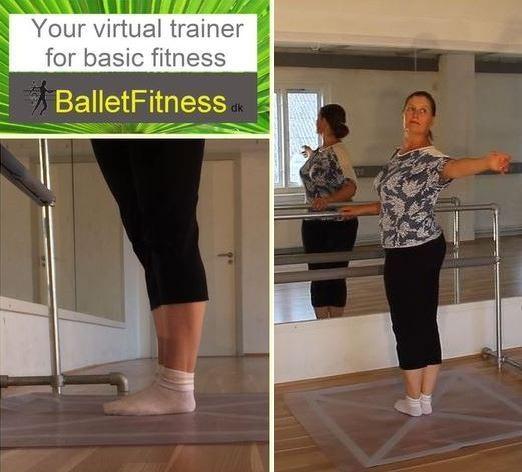BalletFitness grundtræning online