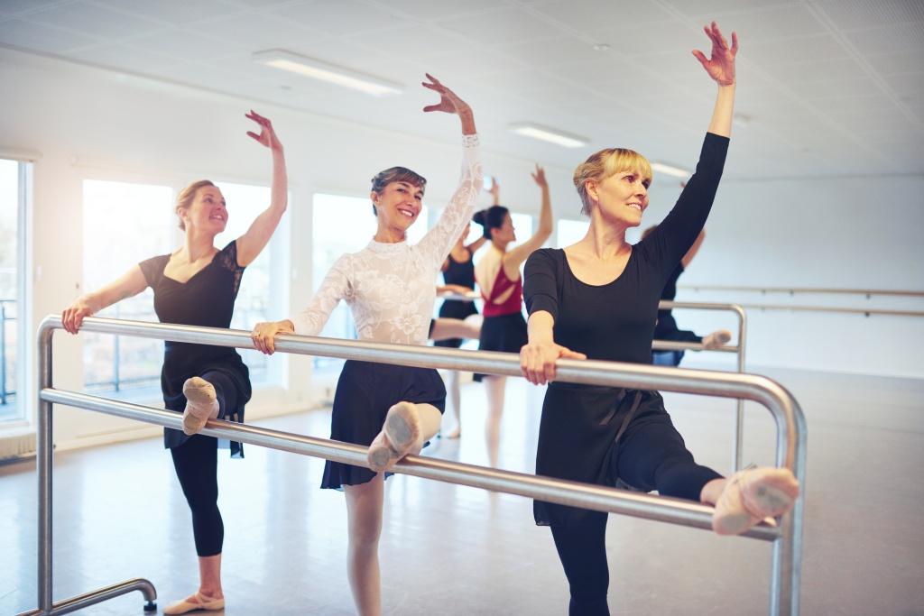 BalletFitness smidighedstræning af ben