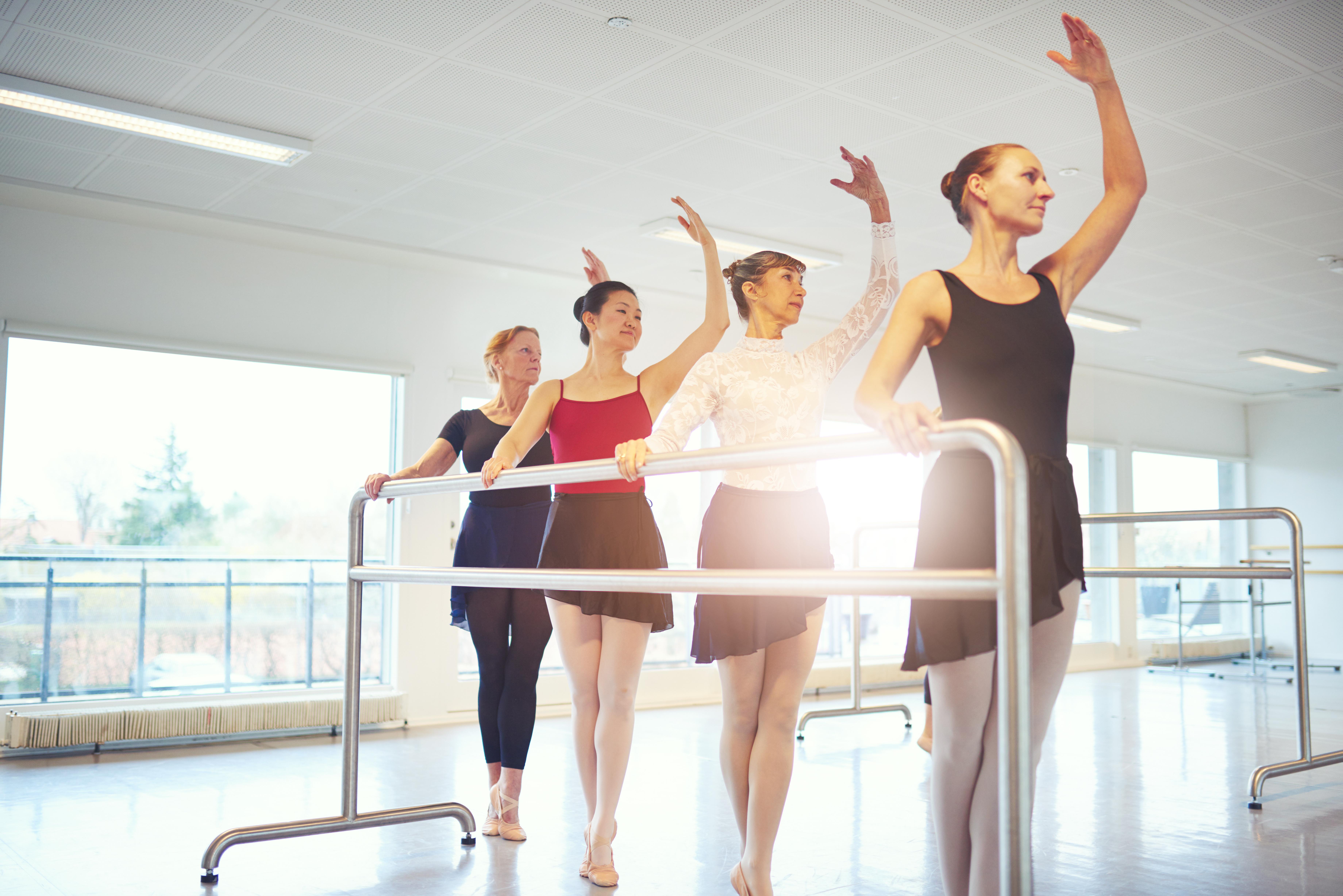 BalletFitness træning af god holdning